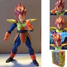 "Dragonball Z Super Saiyan Vegeta 15cm/6"" Pvc Action Figure New In Box"
