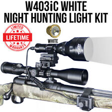 Wicked Lights W403iC Night Hunting Light Kit w/ White LED for Coyotes, Hogs