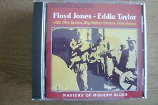Floyd Jones - Eddie Taylor - Masters Of Modern Blues (CD) . FREE UK P+P ........