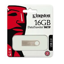 Pendrive 16GB Kingston 16 GB USB 2.0 - DTSE9H/16GB