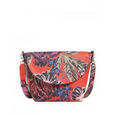 Guess Women's Bag Macarena Red-Floral-Olive FL642221 reversible