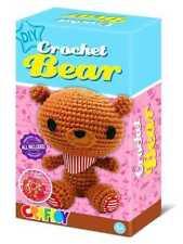 DIY Crochet Kit For Beginners, DIY Kit, Crochet Bear, Crochet for kids