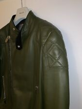 Bally biker leather jacket