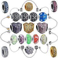 2018 New Handmade Brand Fashion European Silver Bead For Diy Bracelet 925 Charms