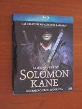 """ SOLOMON KANE GUERRIERO EROE LEGGENDA"" BLU RAY DISC COME NUOVO"
