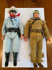 THE LONE RANGER 1970s GABRIEL vintage action figures and horses