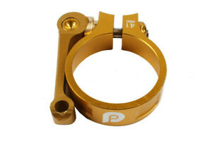 Folding bike 41mm seat pipe clamp for 33.9mm seat tube litepro seatpost clamp