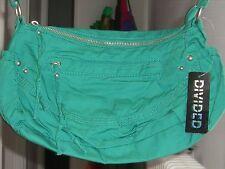 H&M borsa cotone verde nuova