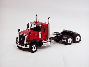"Caterpillar CT680 6x4 Truck Tractor - ""RED"" - 1/50 - WSI"