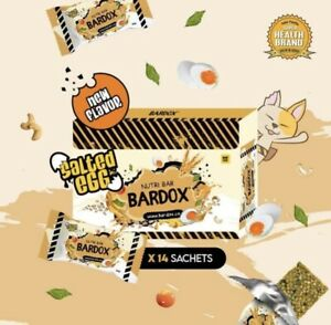8 Box Bardox Nutri Detox Bar Meal Replacement Salted Egg + 1 Gano Classic Sacs