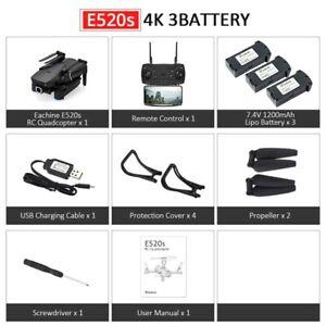 Eachine E520S 4K Wide Angle Foldable Drone GPS FOLLOW ME WIFI FPV