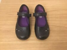 Brand new girls leather clarks shoes black size 8.5 G