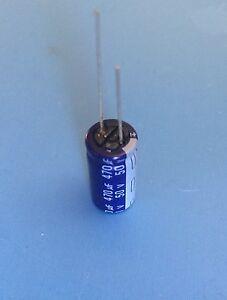 ECA-1HM471 PANASONIC CAPACITOR ALUMINUM ELECTROLYTIC 470UF 50V RADIAL 10X20mm