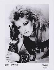 Cyndi Lauper HAND SIGNED 8x10 Photo, Autograph, Girls Just Wanna Have Fun Singer