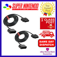 EXTENSION CABLE FOR SNES SUPER NINTENDO CONTROLLER 1.8M [2 PACK]