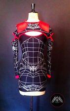 DANE Wireframe Slash Dress Cyber goth Clubwear Podium Bodycon UV