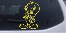 Tweety Bird Car or Truck Window Laptop Decal Sticker Yellow 8X5.8