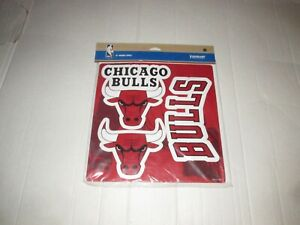"""Chicago Bulls NBA Basketball 12"""" 3 Piece Magnet Set Forever Collectibles Fan New"""