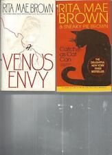 RITA MAE BROWN - VENUS ENVY - A LOT OF 2 BOOKS