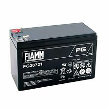 Fiamm FG20721 Batteria al piombo ricaricabile 12V 7,2Ah faston 4,8mm ups allarmi