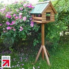 Traditional Wooden Fordwich GardenBird Table 🇬🇧 Made in Great Britain🇬🇧