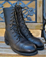 U.S. MILITARY JUMP/FLIGHT DECK BOOTS SIZE 6.5 W STEEL TOE EXCLNT COND MADE 1999