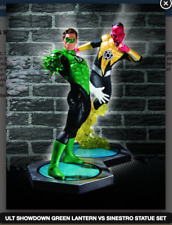 ULTIMATE SHOWDOWN GREEN LANTERN VS SINESTRO STATUE SET (FACTORY SEALED,MIB)