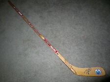 TAYLOR HALL Edmonton Oilers SIGNED Autographed Hockey Stick w/ COA