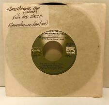 "Felix & Jarvis Flamethrower Rap 45 Vinyl Record 7"" Single Instrumental Canada"