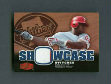 2006 Bobby Abreu Flair Showcase Stitches Game-Used Jersey Patch #SS-BA