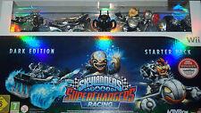 Skylanders superchargers racing Dark Edition starter pack, Nintendo wii, nouveau & OVP