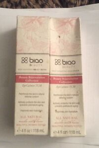 Biao Beauty Rejuvenating Night Creme & Cleanser 8fl Oz Set Retail $72