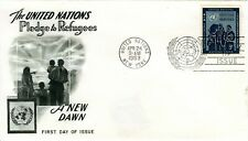 Sc# Un16 - 1953 5¢ Pledge to Refugees - First Day Cover by Fleetwood