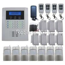 T01 Quad-Bands GSM PSTN DIY Wireless Home Security Alarm Burglar System SMS Call