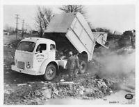 1950s White 3020 Truck Press Photo 0194 - City of Tiffin Sanitation Dept