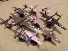 WW II American Aircraft Collection I: (10) Built and Painted, 1/100 Scale