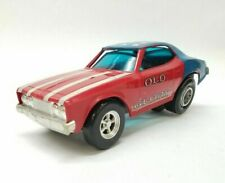 1972 Hasbro Stick Shifters Old Glory Red White Blue USA American Flag Toy Car