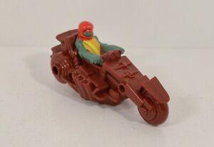 """2012 Raphael Raph 4"""" McDonald's Figure Cycle #6 Teenage Mutant Ninja Turtles"""