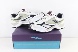 NOS Vintage Saucony Grid Shadow 9 Jogging Running Shoes Sneakers Mens Size 9