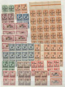 Französische Kolonie Auslandpostamt Ägypten aus 1-80 Posten postfrisch