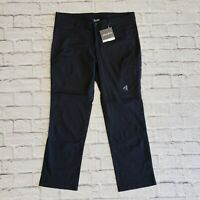 Eddie Bauer First Ascent Flexion Black Guide Pant Stretch NWT $80 14 P Petite XL
