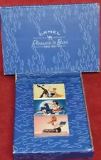 2005 Camel Pleasure to Burn  Boxed Set of 3 Stick Match Boxes