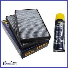 Pollenfilter Innenraumfilter Aktivkohle BMW 5er E60 E61 + Klimareiniger