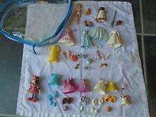 Disney Princess Cinderella Polly Pocket Fashion Playset & Fashion Minnie Mouse