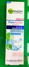 30 ml Garnier Skin Natural Pure Active Sensitive Anti-Acne Serum Cream Skin Care