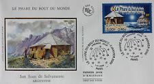 ENVELOPPE PREMIER JOUR - 9 x 16,5 cm - ANNEE 2000 - SAN JUAN DE SALVAMENTO