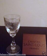Saint Louis Crystal Cleo Bicchiere Liquore x6 Saint Louis Cristallo Saint-Louis