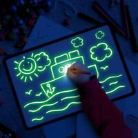Glowing Paint Glow Light Tablet Draw With Light Fun And Developing Toy !