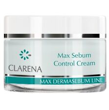 Clarena Max Dermasebum Control Cream For Mixed, Oily Skin 50ml
