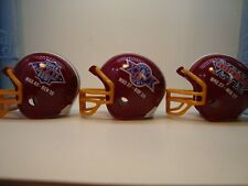 (3) Washington Redskins Riddell Pocket Pro Super Bowl Helmets